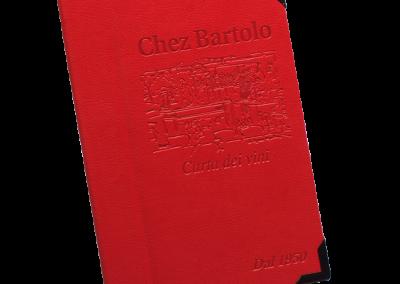 Carte menu italien