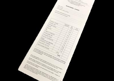 ticket blanchisserie